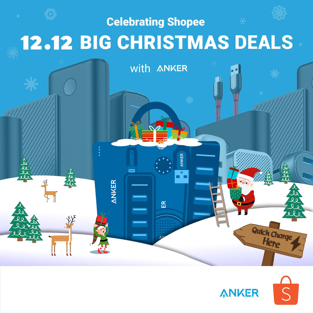 Top Anker Products At The Shopee 12.12 Big Christmas Sale