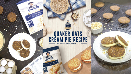 Baking for Beginners: Quaker Oats Cream Pie by Chef Miko Aspiras