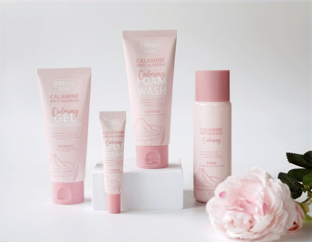 Affordable Anti-Acne Skin Care Set: FRESH Calamine Anti-blemish