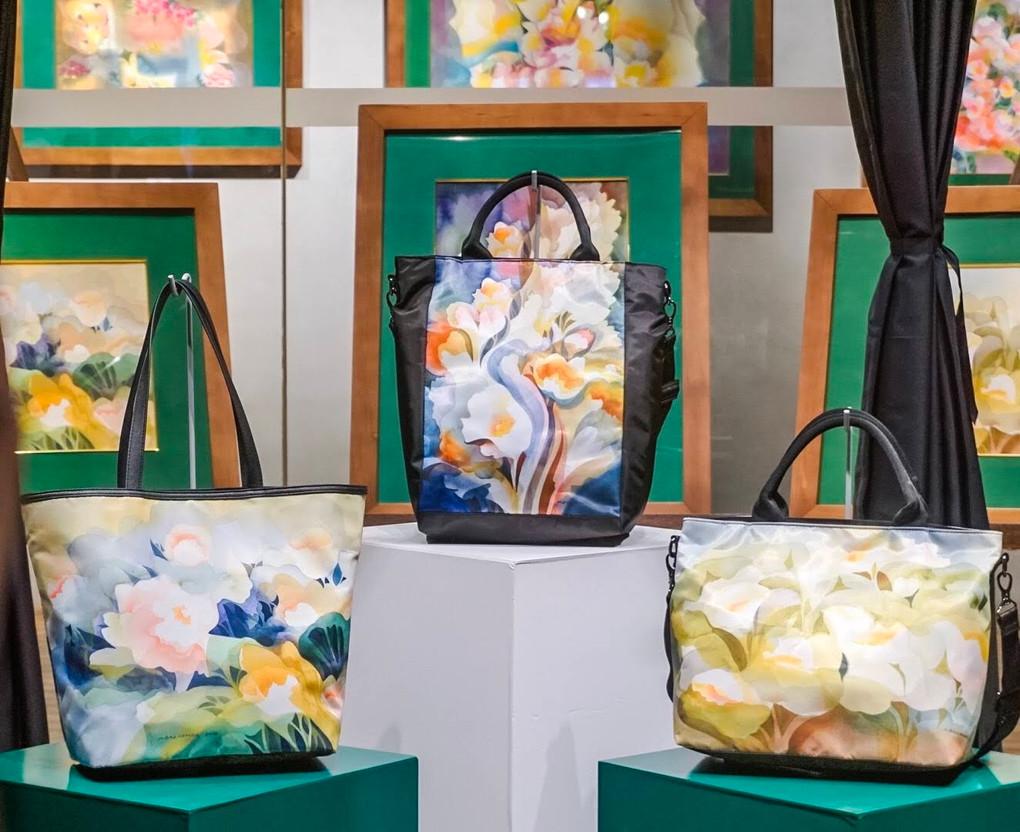 MBaldemor x Beabi Floral Symphony Bags