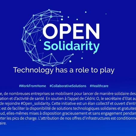 Open Solidarity : acteurs du web, venez aider