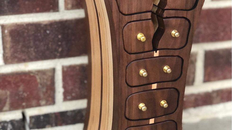 Walnut/Birch Jewelry Box