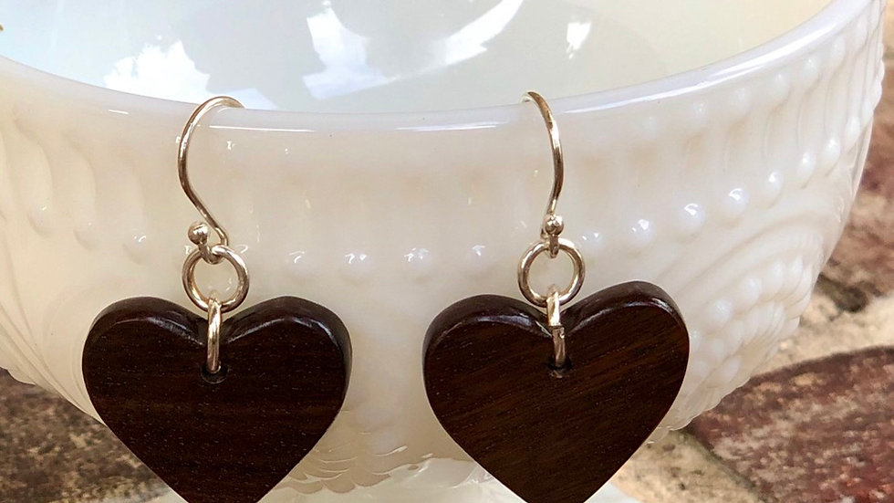 Heart Earrings, Great Valentines Day Gifts!