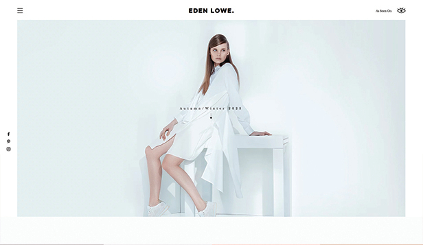 Móda a krása website templates – Fashion Designer