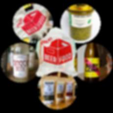 Products of the Food Pioneers Pack Beerfood
