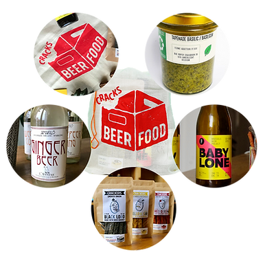 Products of the Food Pioneers Pack Beerfood