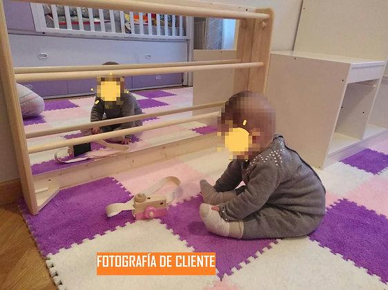 Espejo con barras Montessori