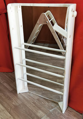 Espejo con barras vertical Montessori