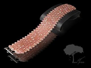 Bransoleta - Pink Lady