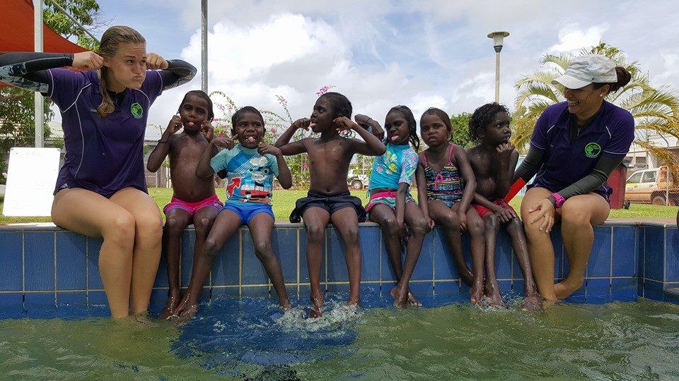 aboriginal swimming lessons