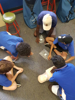 Aboriginal learn to swim NT CPR