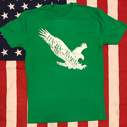 Men's green shirt WE THE PEOPLE EAGLE