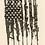 Thumbnail: Men's White bleeding Gun Flag shirt