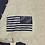 Thumbnail: Men's Gray shirt with navy print Infidel shirt