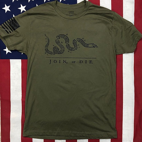 Men's O.D. Green JOIN OR DIE