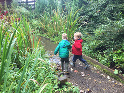 Children playing at Horticap