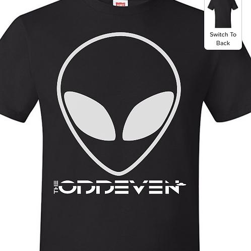 The OddEven - Alien Shirt, Black