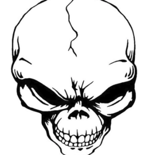TOE T-Shirt Black, Skull