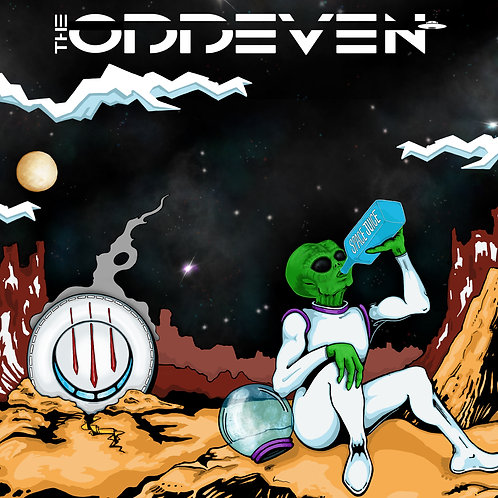 The OddEven - Space Juice CD