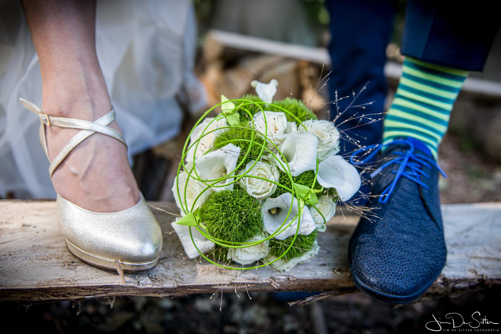 Huwelijksfotograaf Jim De Sitter: trouwschoenen