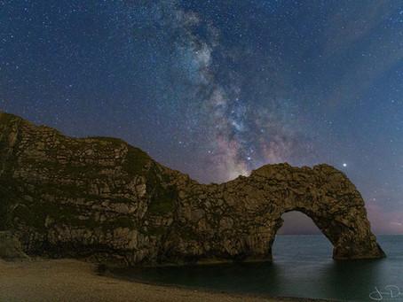 Op zoek naar een donkere locatie voor astrofotografie