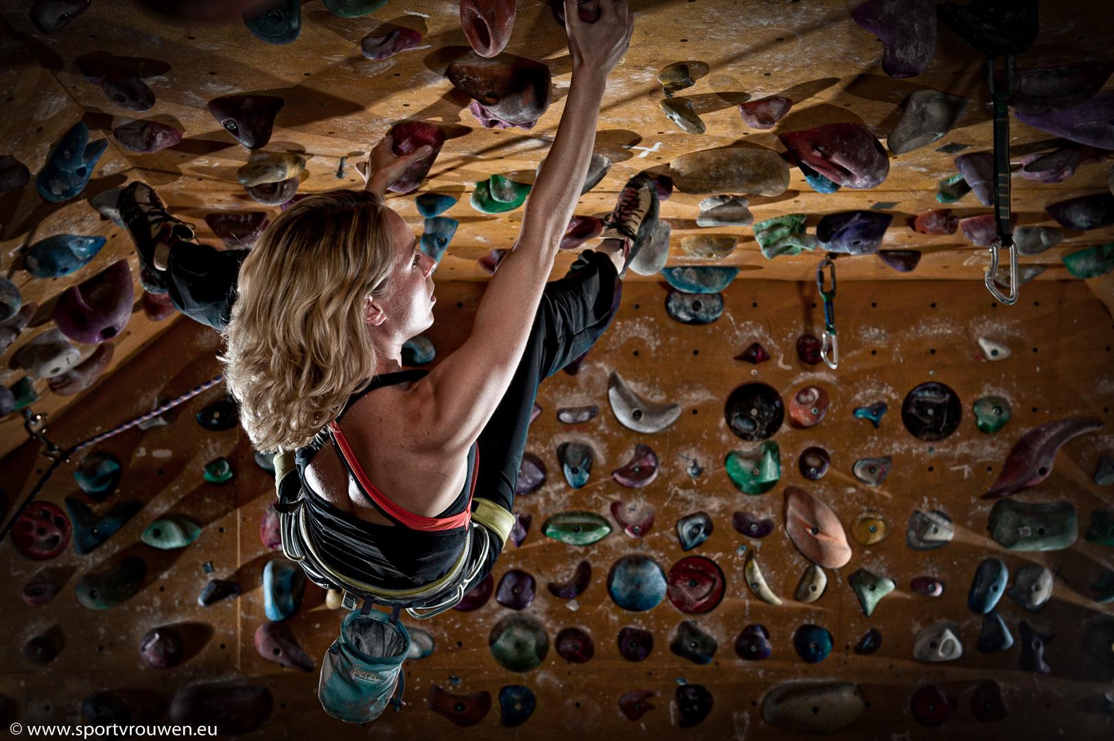 Sportvrouwen : Sportklimmen
