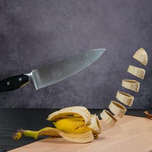 Levitating banana