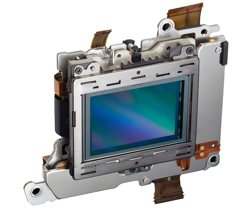 Sensor van een Nikon Z6 en Z7 camera