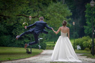 Een speelse huwelijksreportage