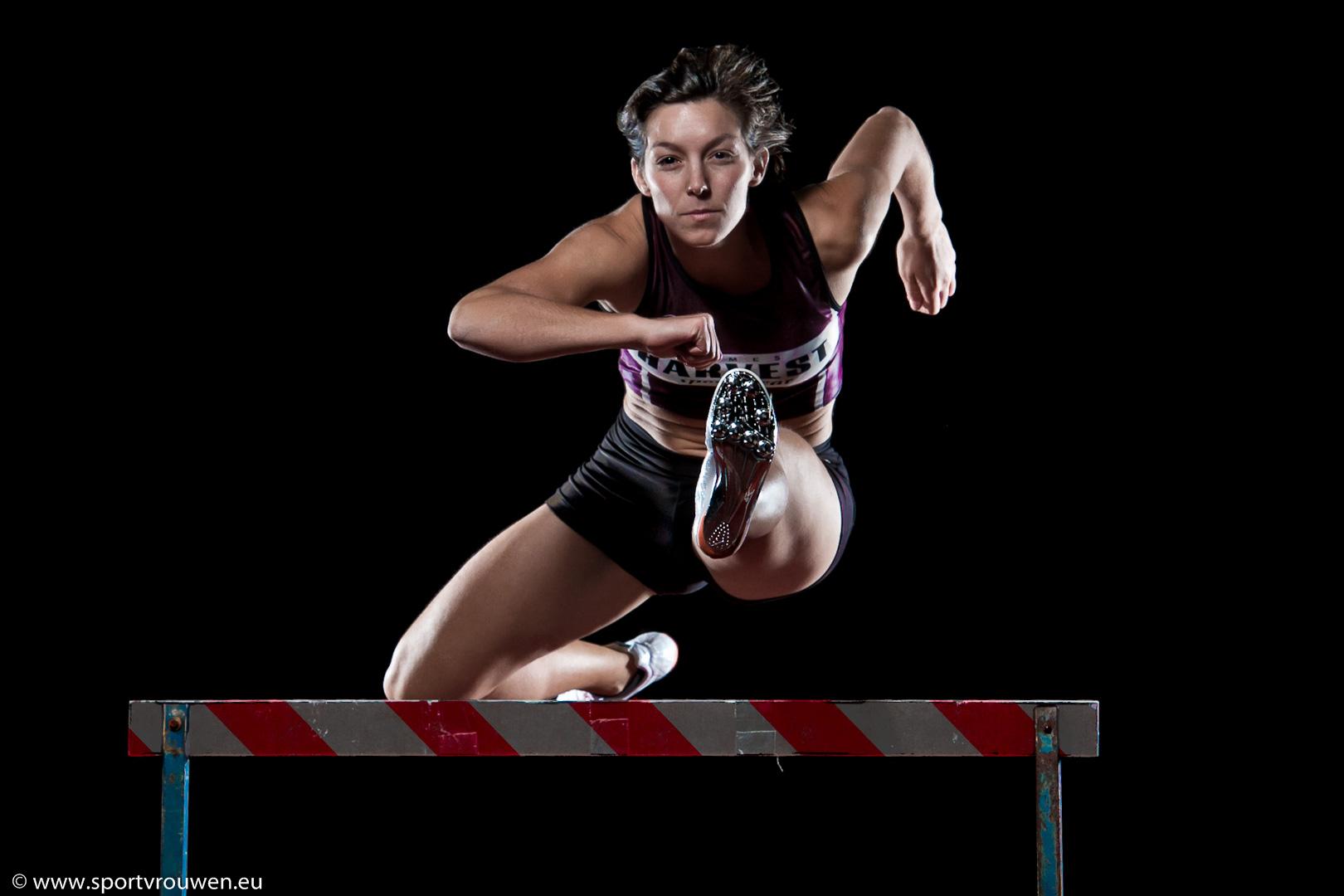 Sportvrouwen : Atletiek - Horde