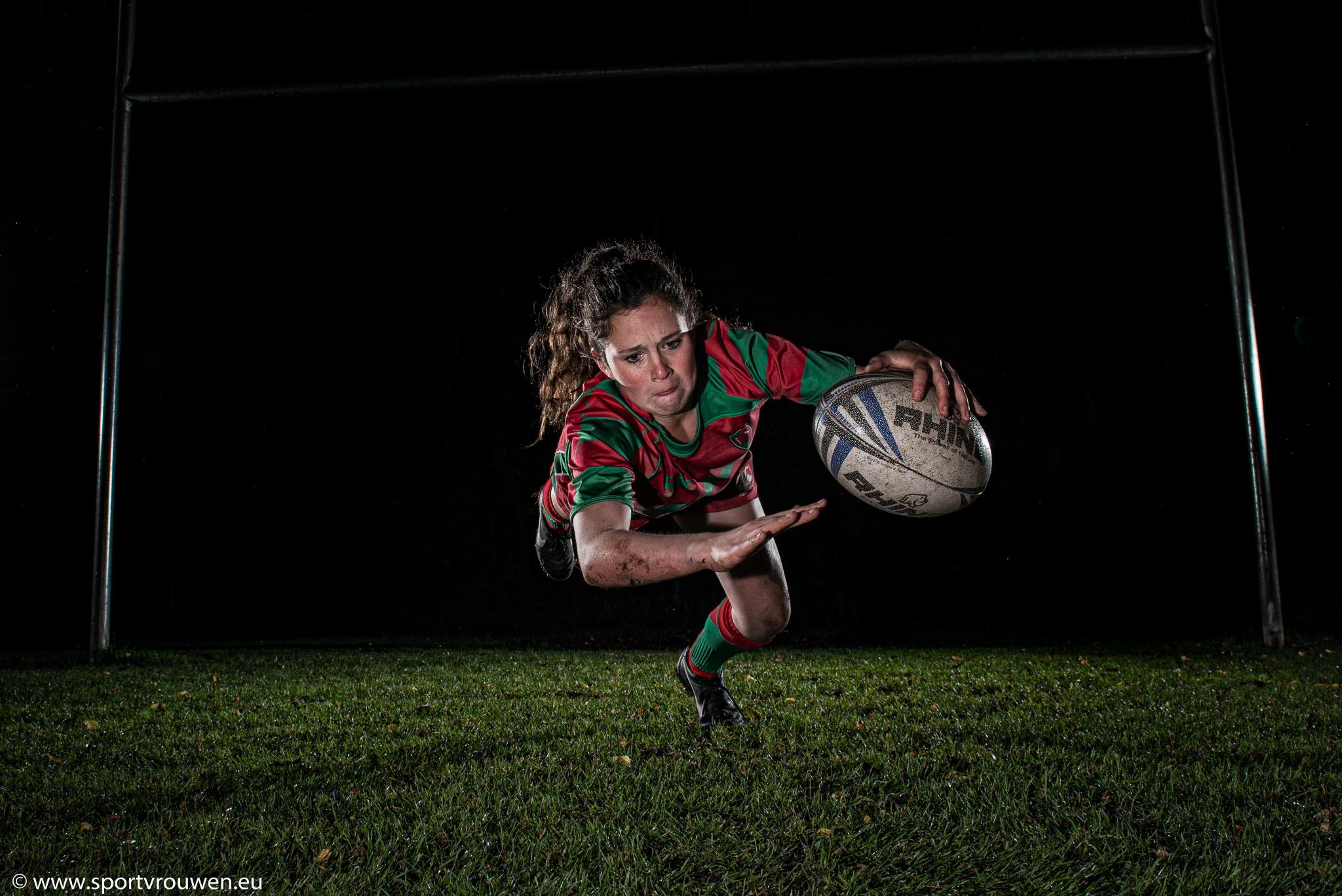 Sportvrouwen : Rugby