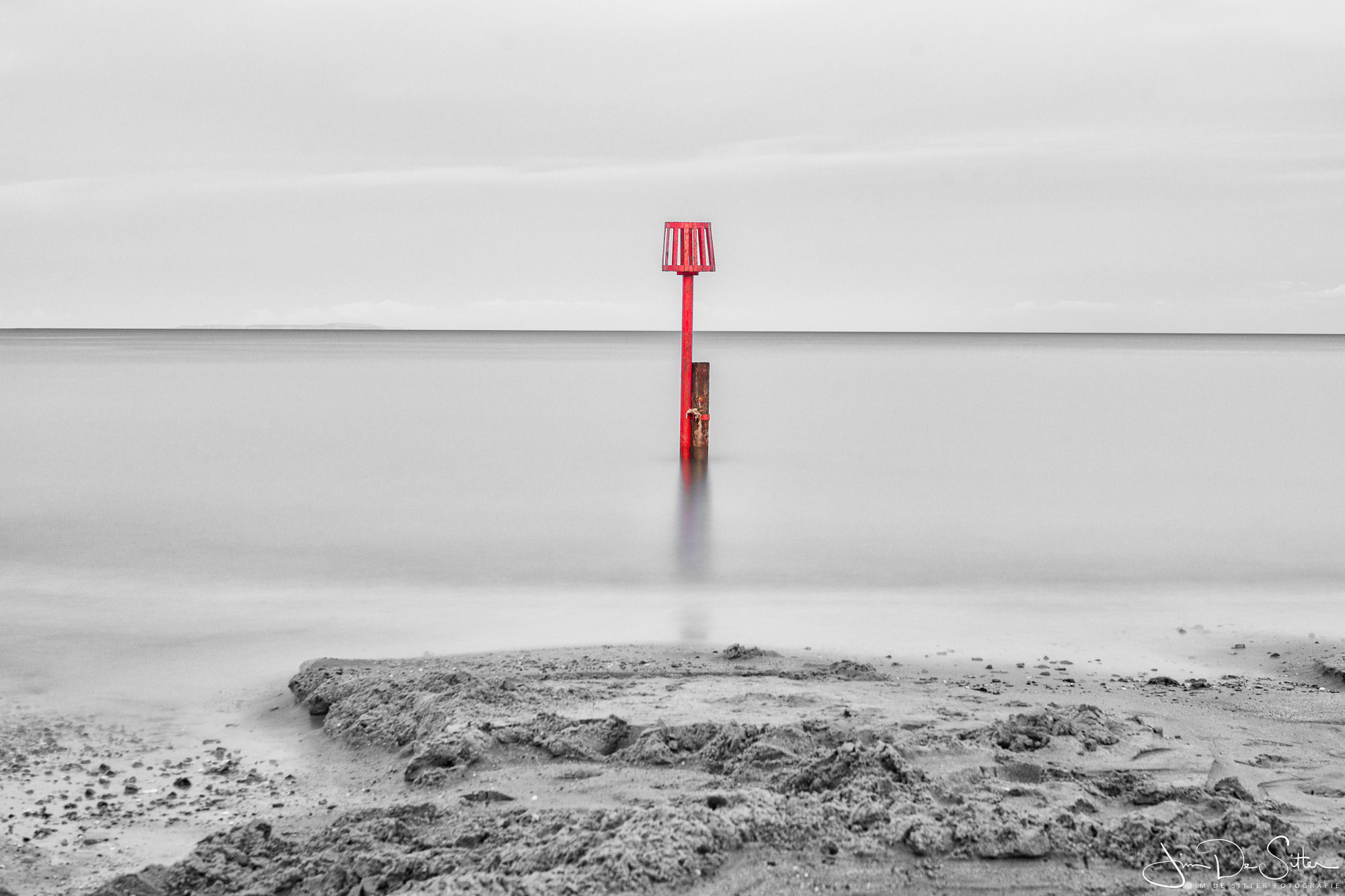 Landschapsfoto : Een zeelandschap in Swanage UK