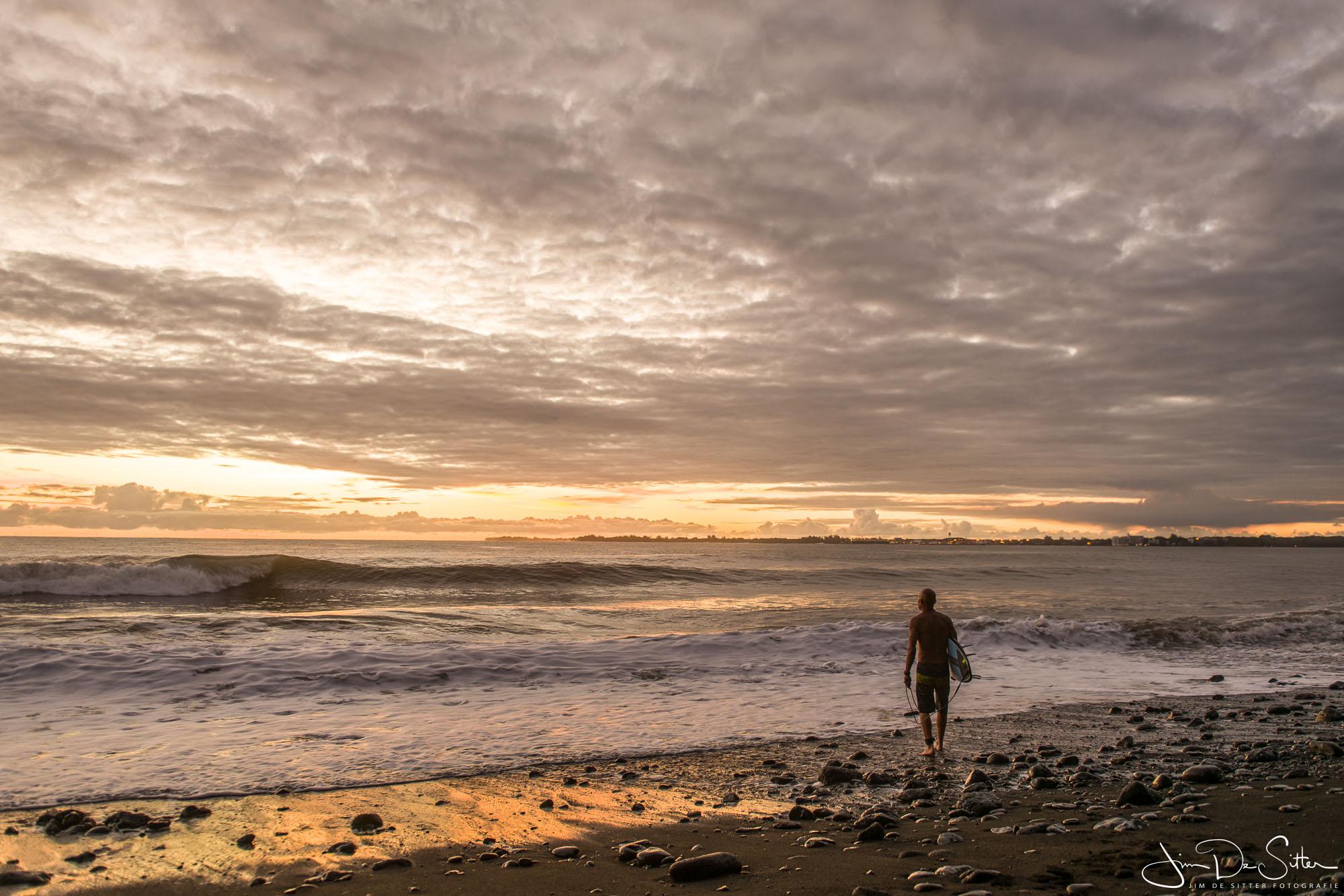 Landschapsfoto : Ochtendsurfing in Hawaii