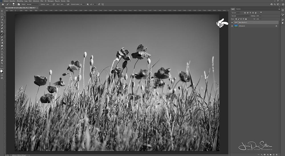 Een van de krachtigste tools in Photoshop is het gebruik van lagen. Maar niet elk bestand ondersteunt lagen.