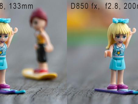 Een 200mm op een crop camera is hetzelfde als een 300mm of een fullframe, toch?