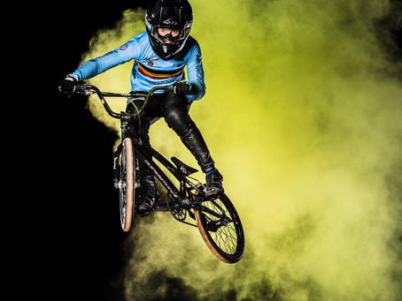 Creatief flitsen : BMX