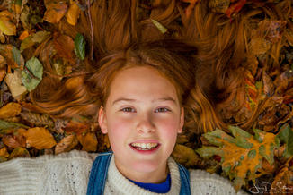 Fotoshoot in de herfst