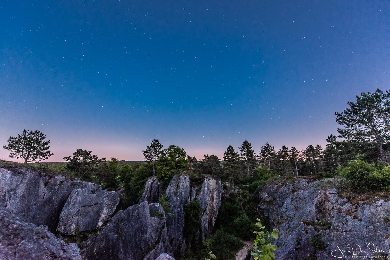 Landschapsfoto : de avond valt over Foundry Des Chiens