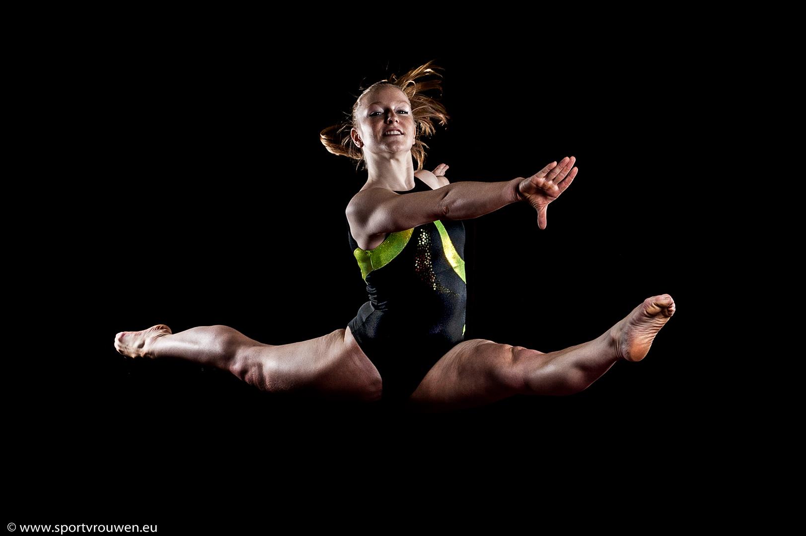 Sportvrouwen : Turnen