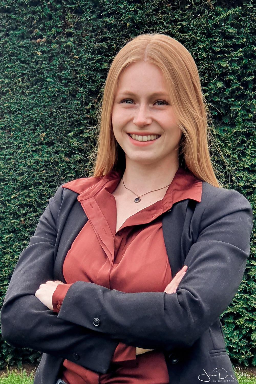 Profielfoto met een smartphone