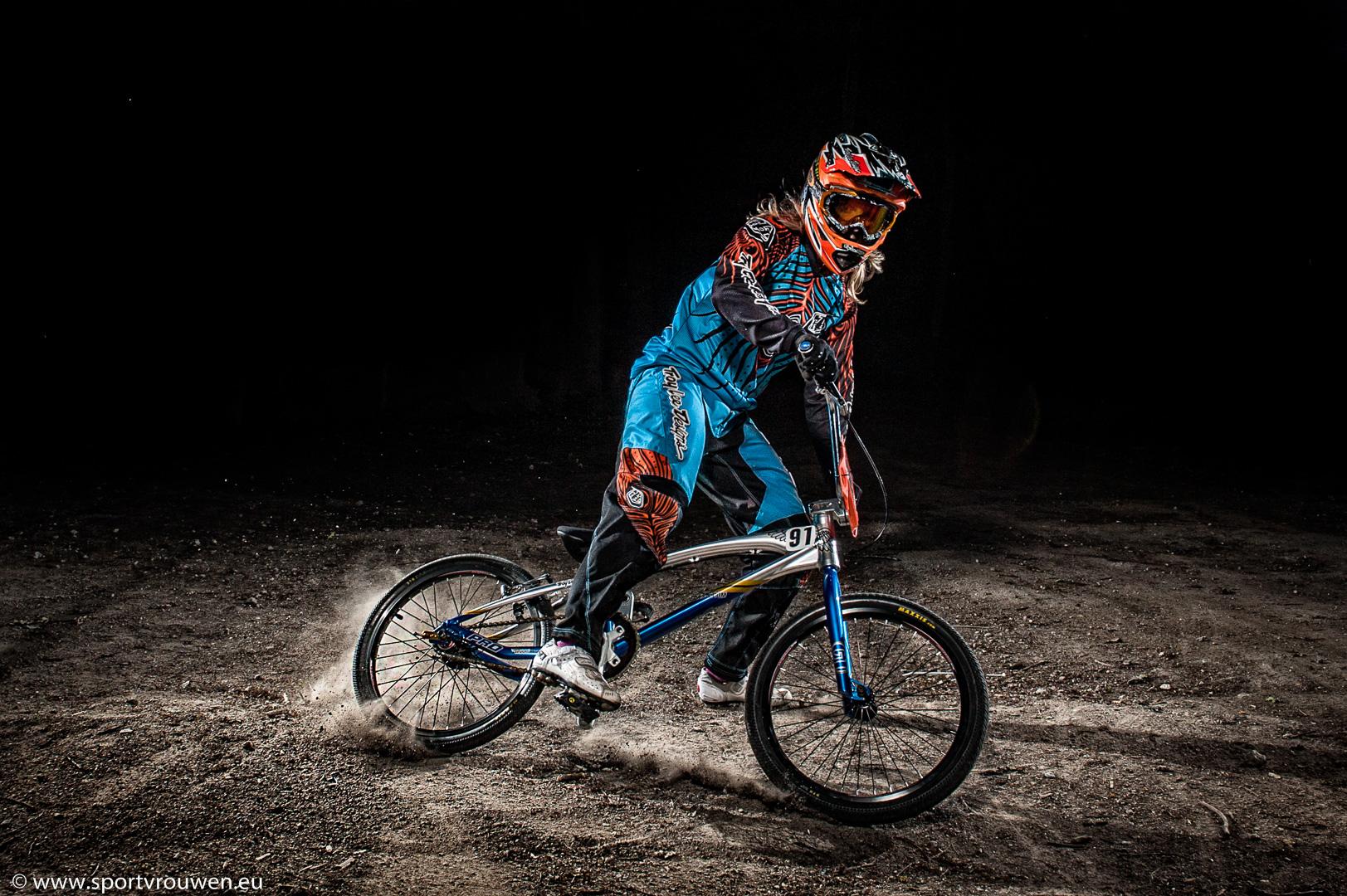 Sportvrouwen : BMX