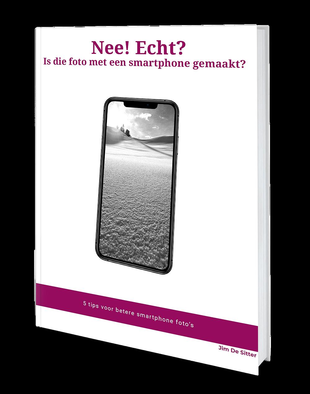 Gratis e-boek : 5 tips voor betere smarphone foto's