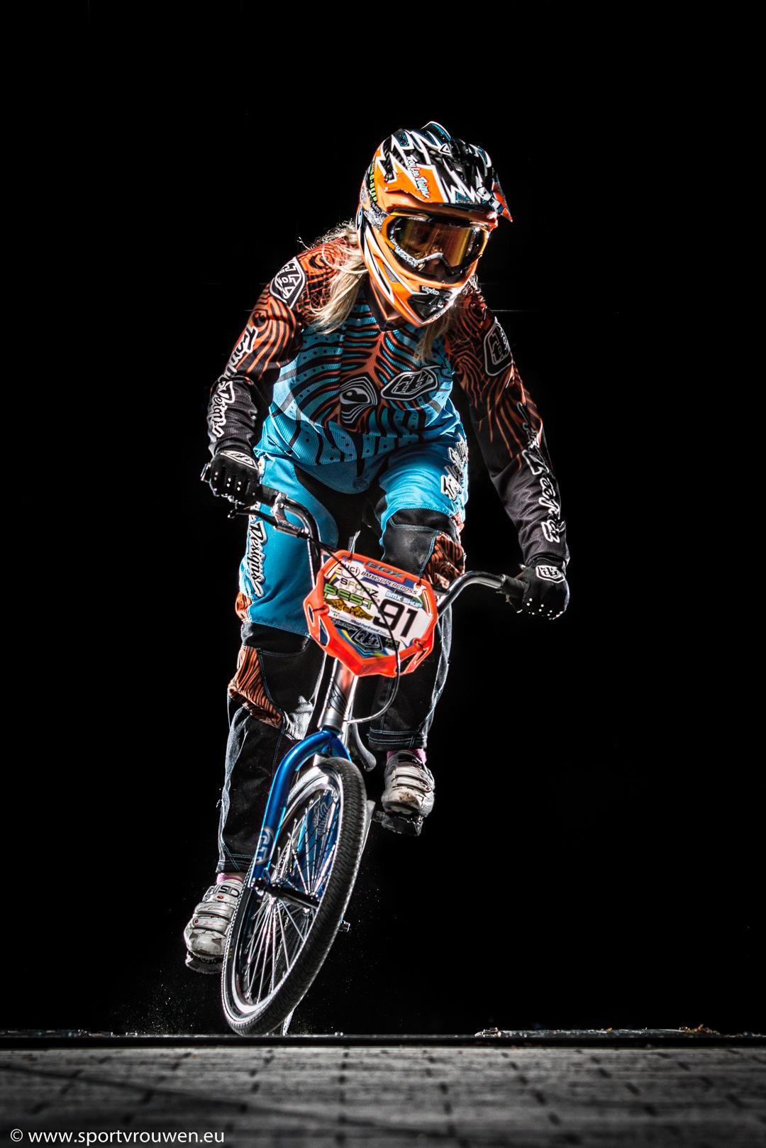 Sportvrouwen - BMX