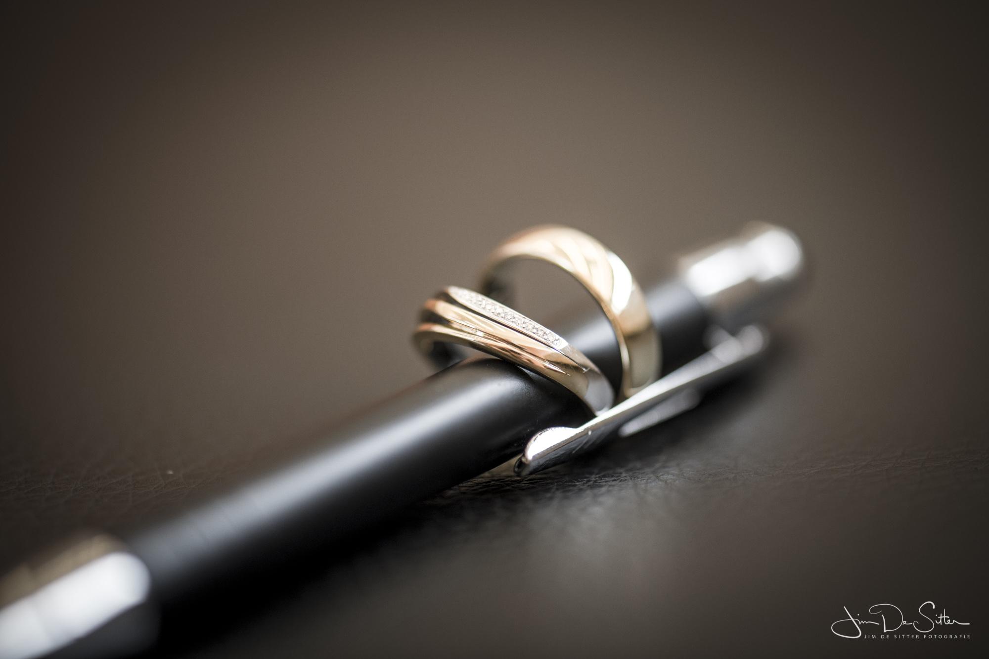 Huwelijksfotograaf Jim De Sitter: de ringen