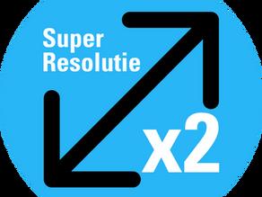 Superresolutie in Lightroom en Photoshop