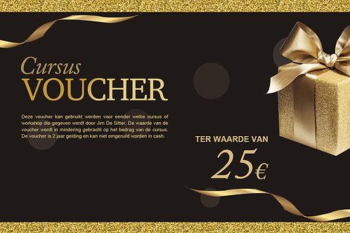 Cursus Voucher 25€