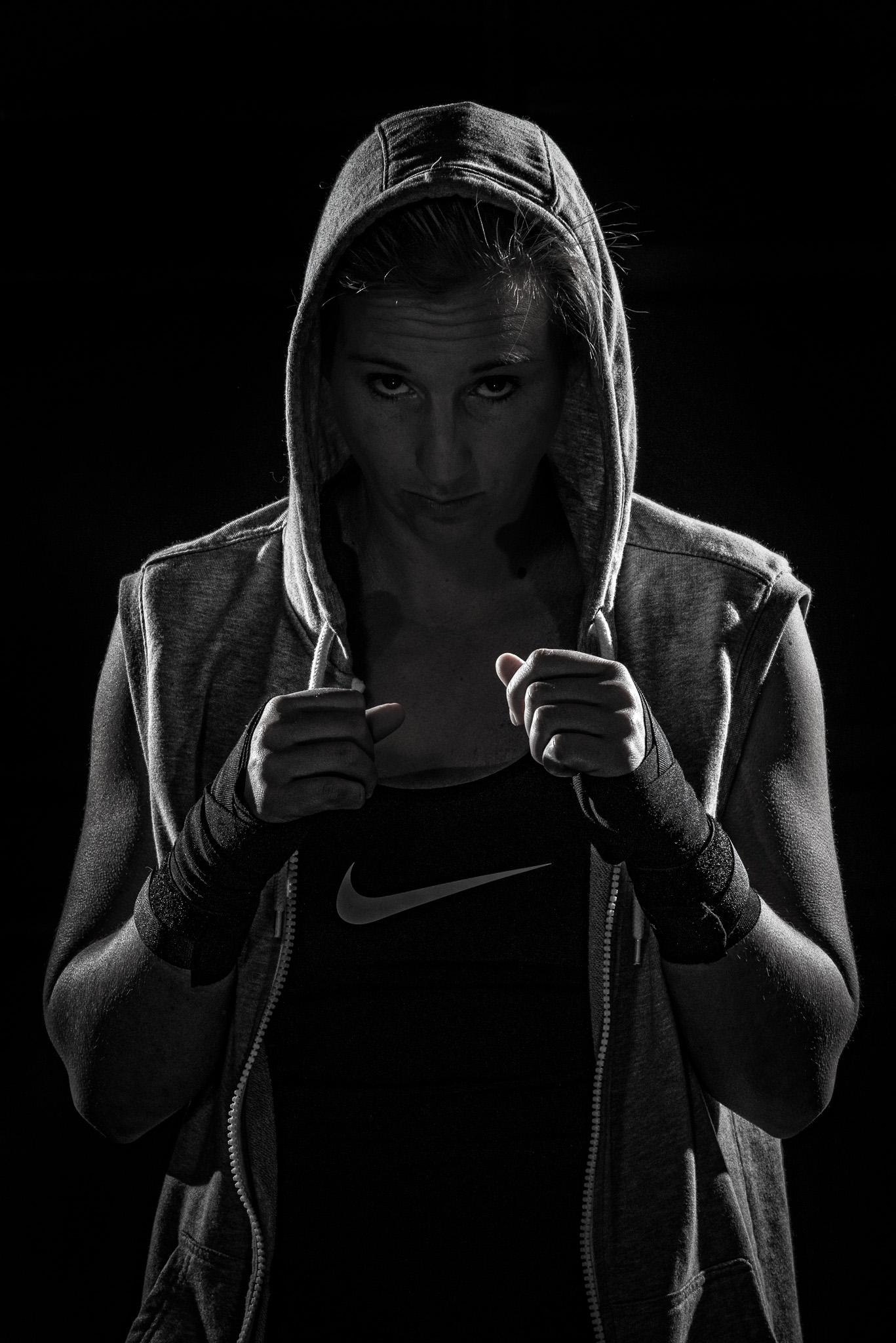 Sportvrouwen : Kickbox