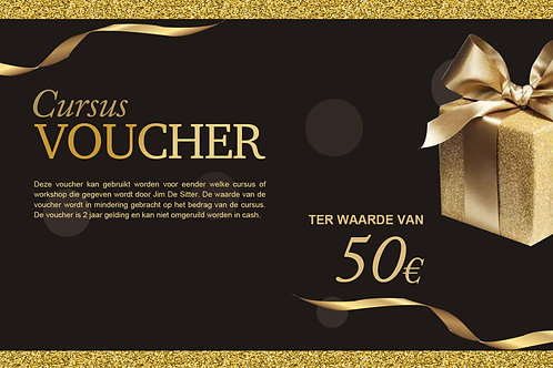 Cursus Voucher 50€