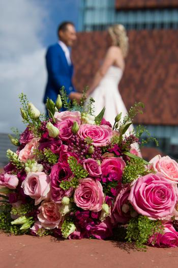 Huwelijksfotograaf met oog voor detail : het trouwboeket