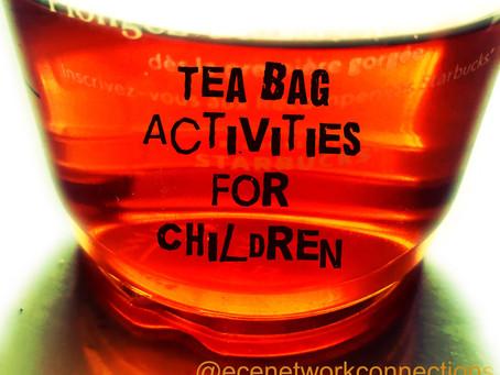 Tea Bag Activities For Children